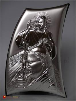 Jezus Miłosierny i Jan Paweł II 4108