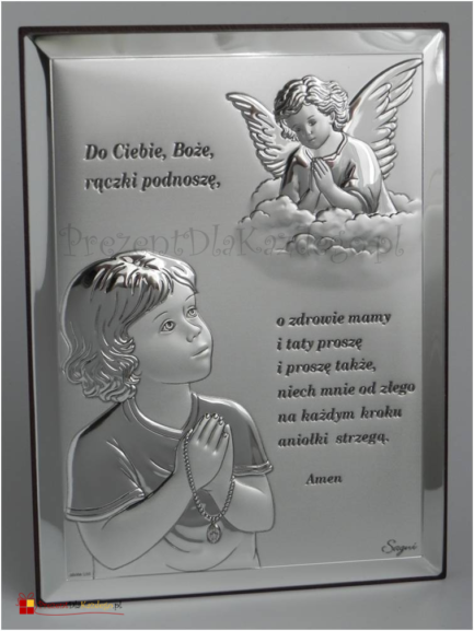 Anioł Stróż z modlitwą 4369